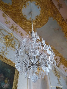 Chandelier In The Entrance Hall
