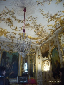Chandelier In The Music Room