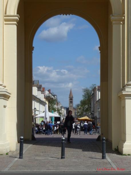 View Through The Brandenburger Tor Arch