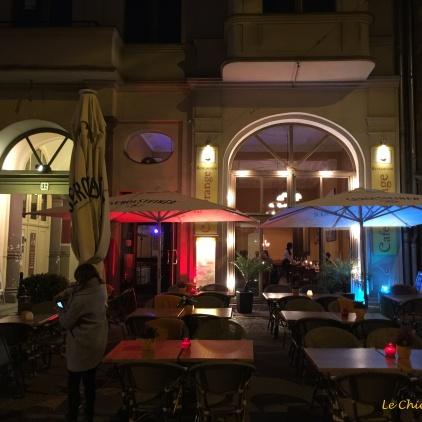 Cafe Orange - Oranienburger Strasse Berlin