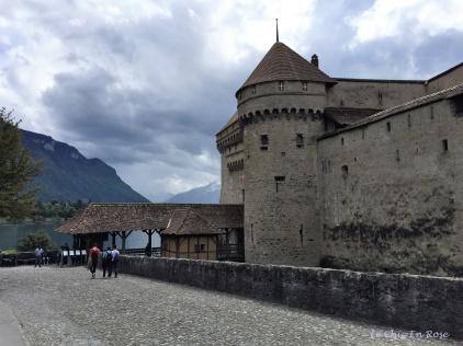 Chateau de Chillon - Montreux Switzerland