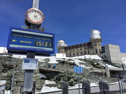 Gornergrat Station Switzerland