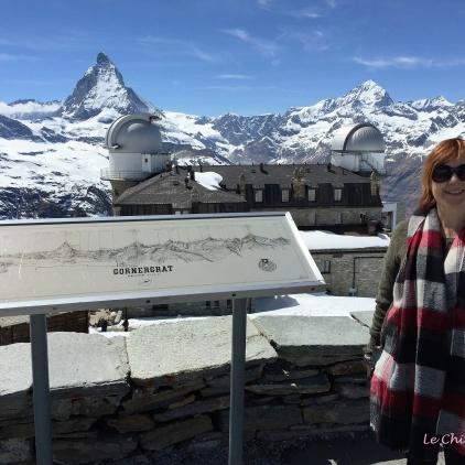 Viewing Point Gornergrat - Matterhorn In Background