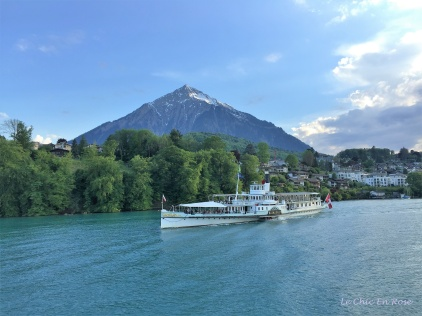 On Lake Thun Switzerland