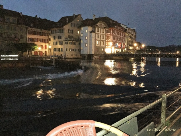 Lucerne At Night - by the river