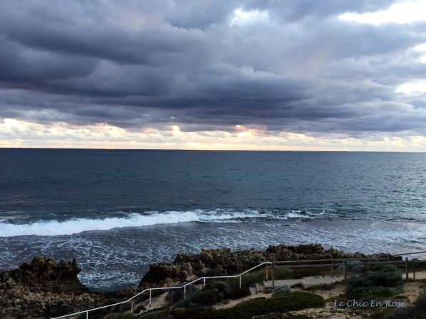 Sunset Over The Indian Ocean - North Beach Perth