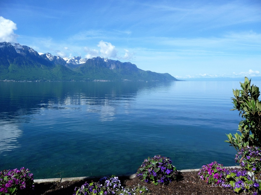 Lake Leman (Geneva) at Montreux