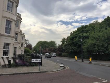 Southern end of Regent's Park