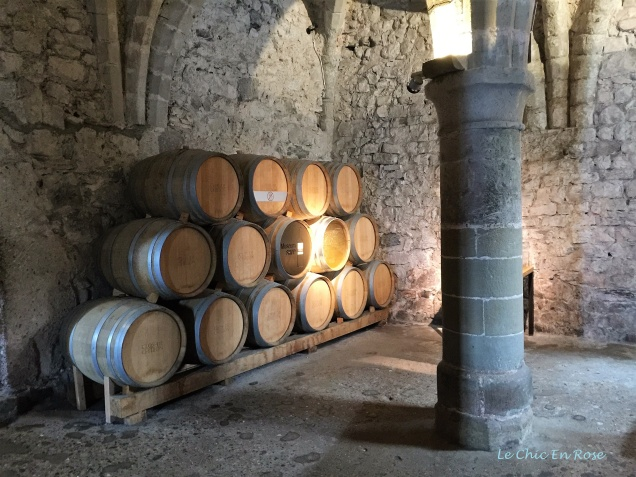 Wine barrels - the dungeon is the perfect spot for them