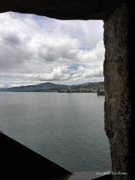 Lake Geneva from Chateau de Chillon