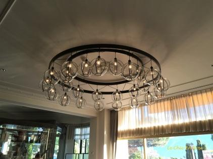 Ceiling Light - Wine Glass Lamp Holders