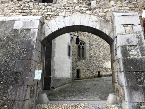 Chateau de Chillon - Castle Gateway