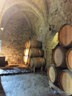 Wine Barrels - Chateau Basement