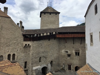 Chateau de Chillon Inside the Citadel