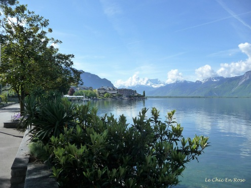 By the lake Montreux