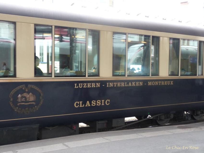 Belle Epoque Pullman Coach - Golden Pass Line