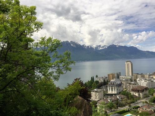 Lake Geneva from the train