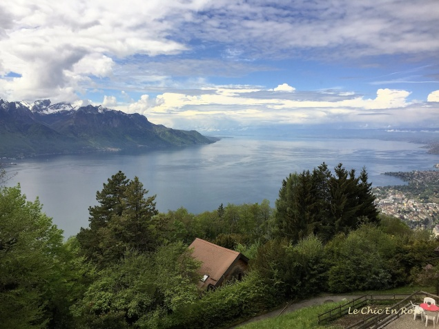 Views back towards Lake Geneva