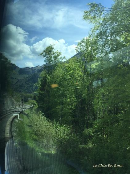 Scene near Les Avants