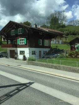 Swiss chalet Bernese Oberland