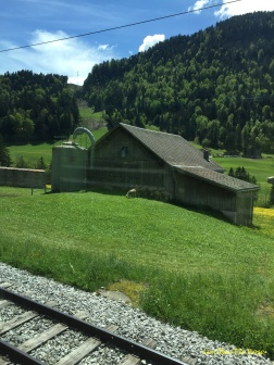 Typical Swiss Farm