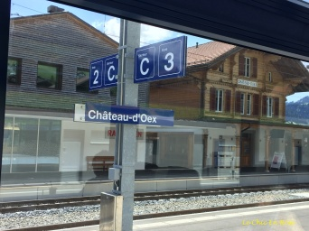 "Chateau d""Oex station"