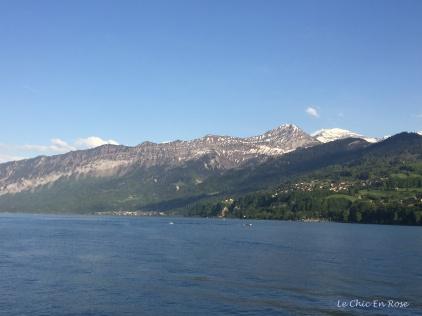 Alps by day Spiez
