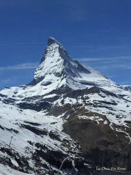The majestic Matterhorn