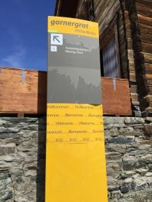 Information Sign Gornergrat