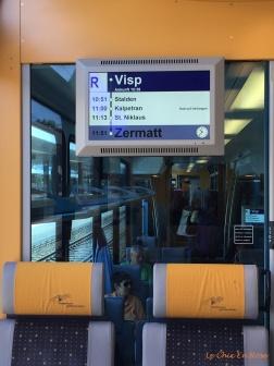 Helpful info on the Swiss trains