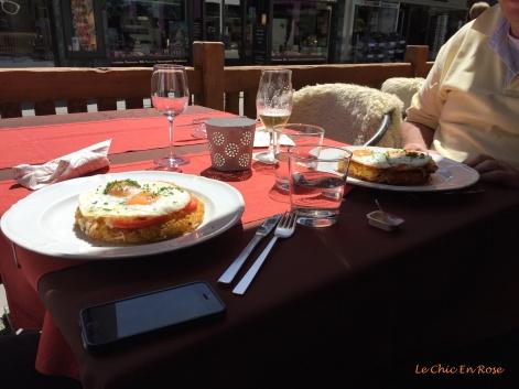 Swiss style lunch - Roesti