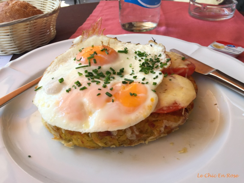 Roesti and eggs!