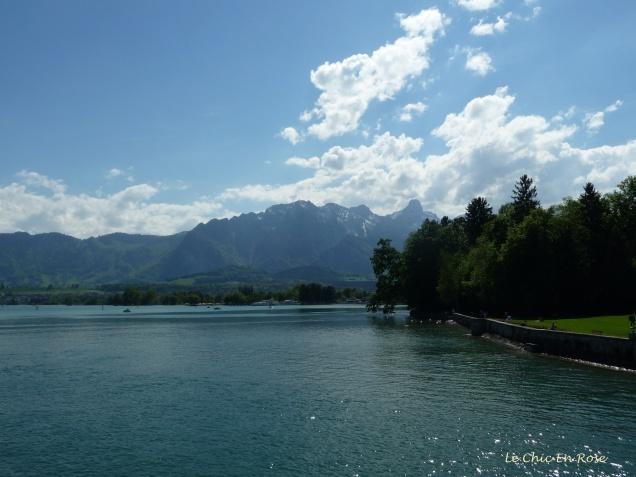 Lake's Edge - Near Thun