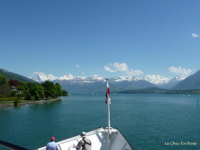 Lake ferry - Thunersee