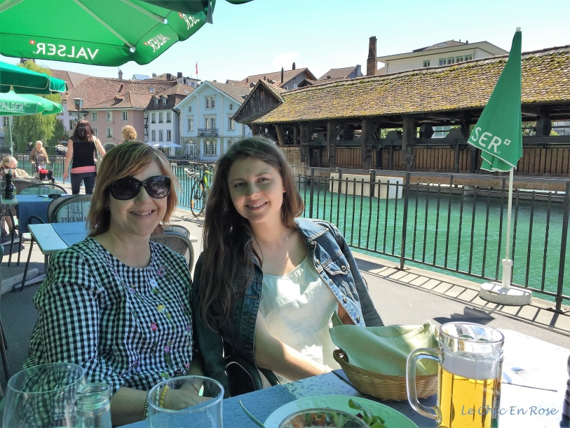 Lunch by the River Aare