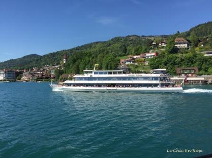 Ferry on Lake Thun