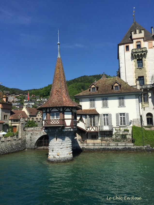 Old buildings along the Aare