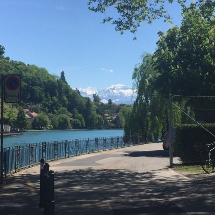 Walk by the River Aare