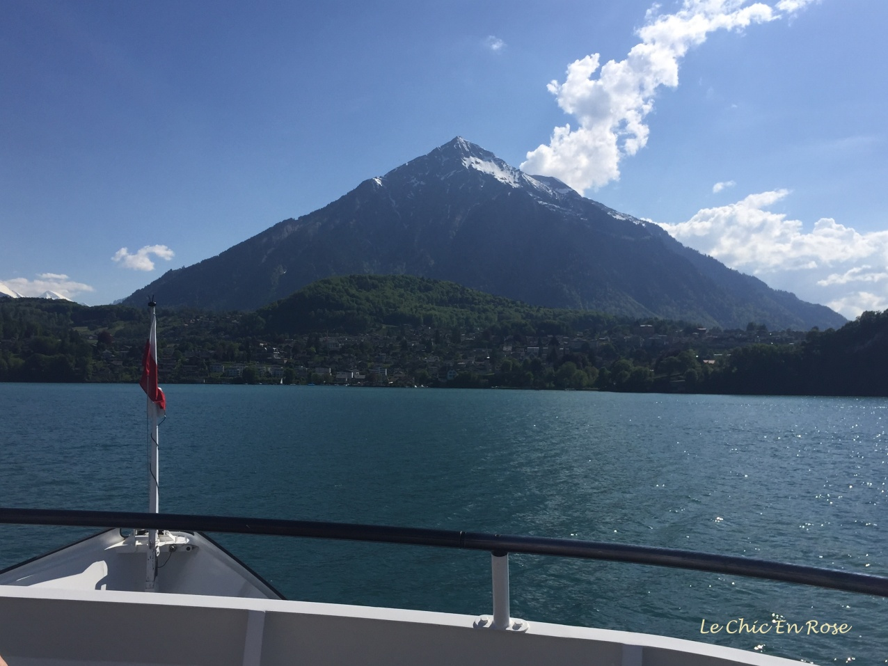 Mount Niesen near Thun and Spiez