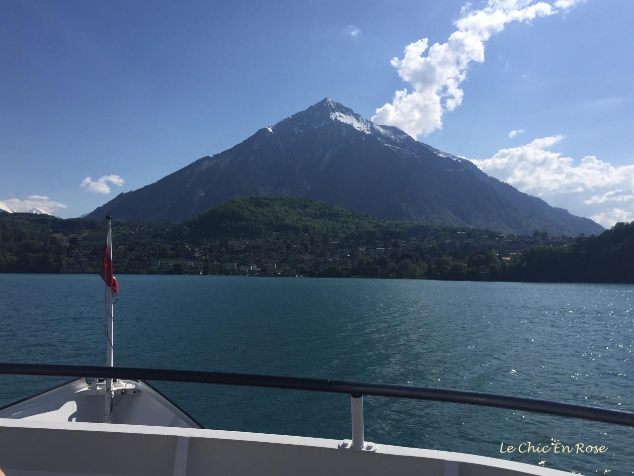 Mount Niesen near Thun and Spiez
