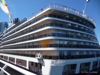 Cruise ship Canada Wharf