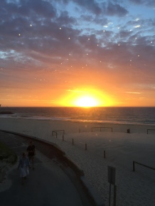 Sunset City Beach Perth